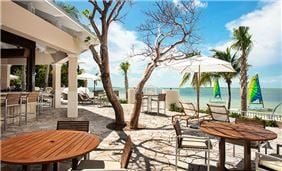 Beach view at Playa Largo Resort & Spa, Autograph Collection, Key Largo, Florida