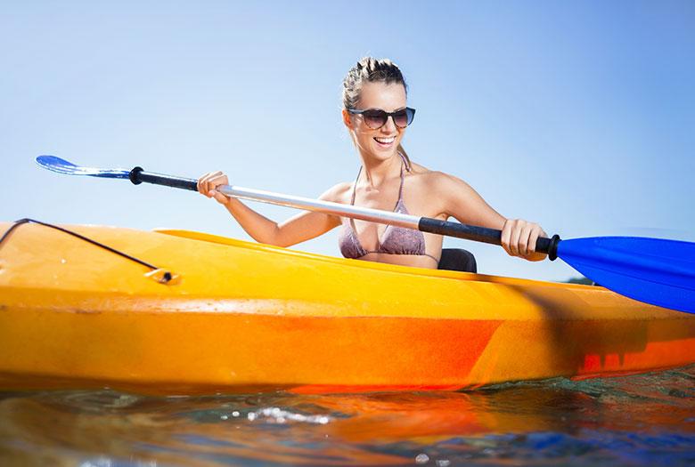 Kayaking at Key Largo, Florida