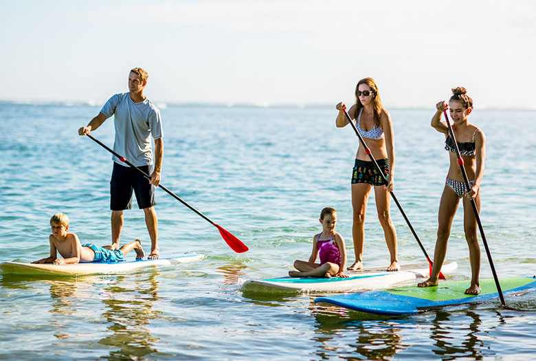 Paddle Boarding at Key Largo, Florida