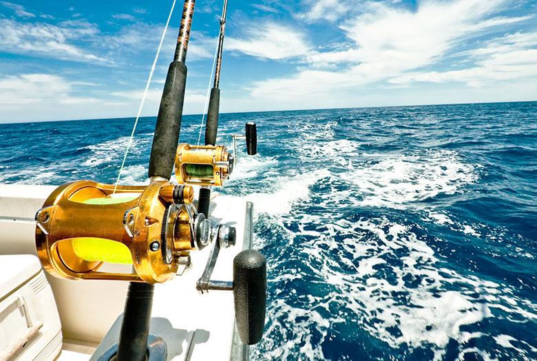 Fishing at Key Largo, Florida