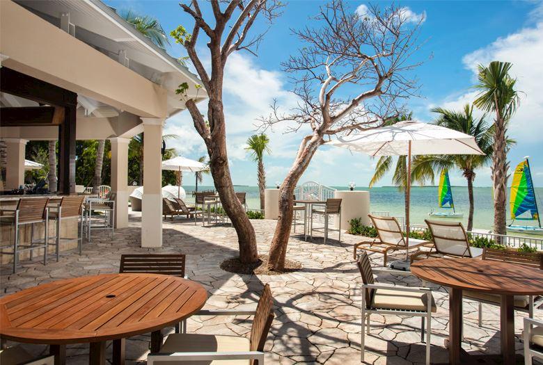 Sand Bar at Key Largo, Florida