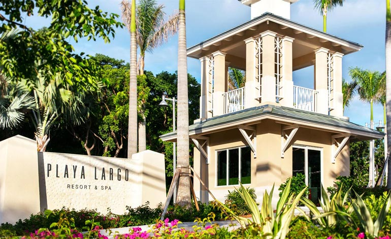 Sign Board of Playa Largo Resort & Spa, Autograph Collection, Key Largo, Florida