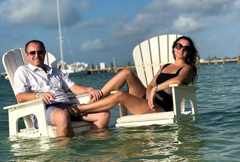 Playa Largo Resort & Spa couple relaxing