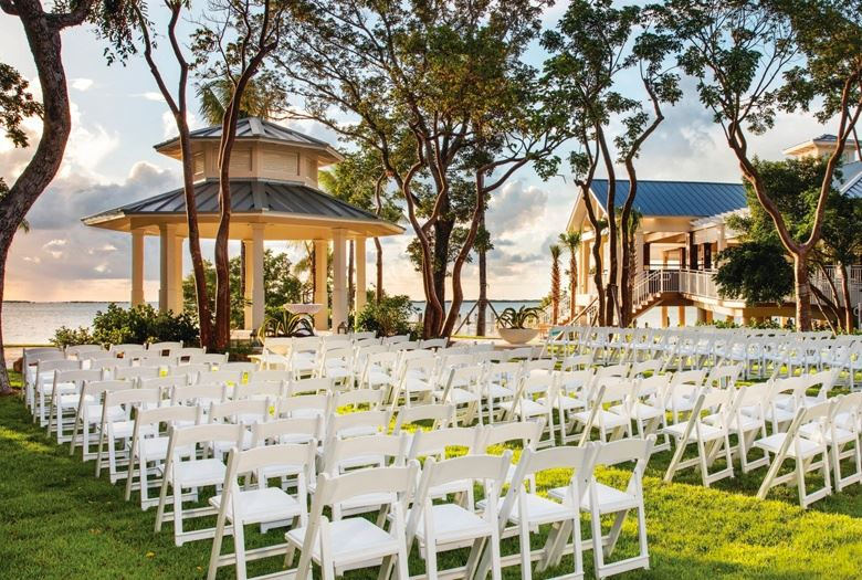 Event Lawn at Key Largo, Florida